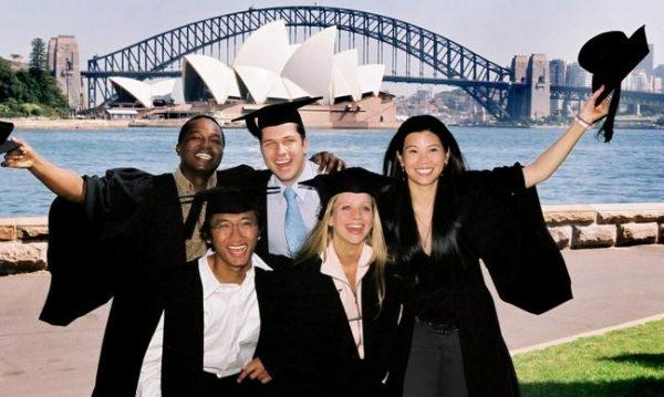 Австралийские студенты