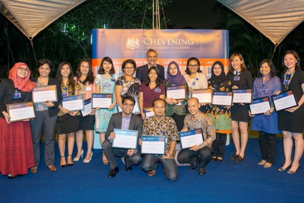 Стипендиаты Chevening Scholarships