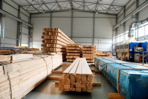 Деревообрабатывающее производство в Канаде
