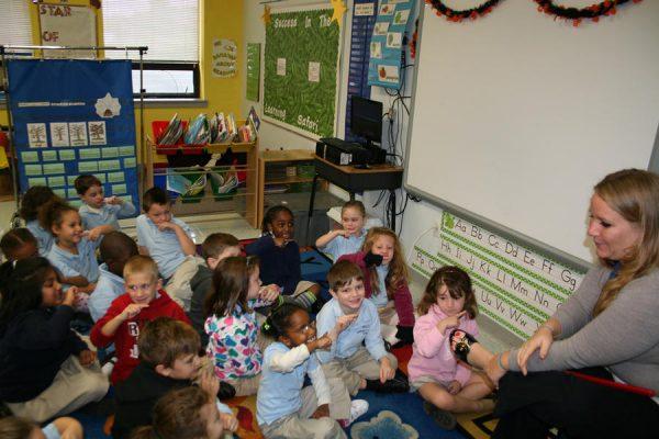 Детский садик в Великобритании