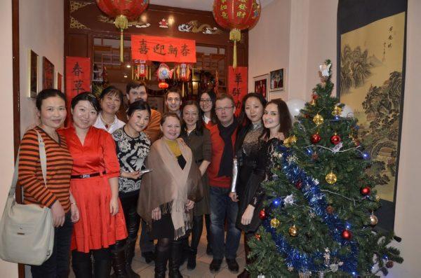 Студенты института Конфуция