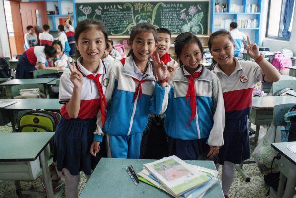 Младшая школа в Китае