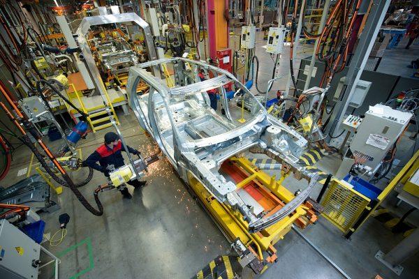 Автомобильный завод в США