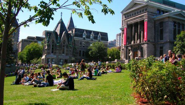 Макгилл в Монреале — один из старейших университетов страны