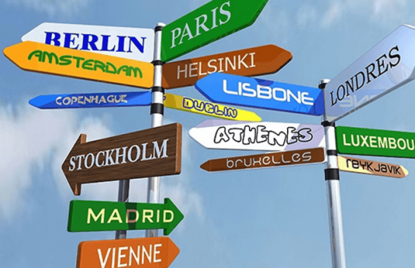 Столицы стран «шенгена»