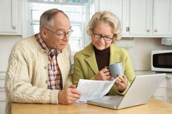 Пенсионеры в Финляндии