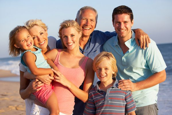 Семья в Австралии