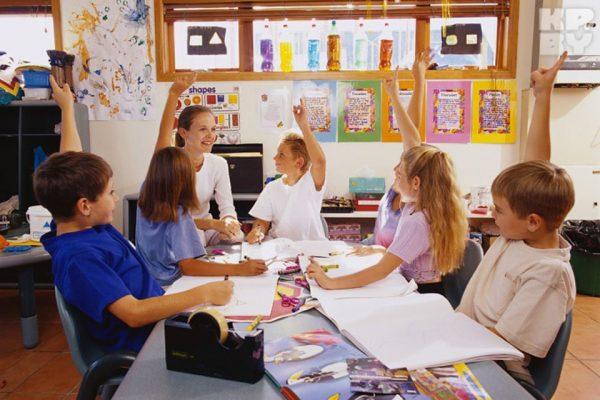 Школьный урок в Чехии
