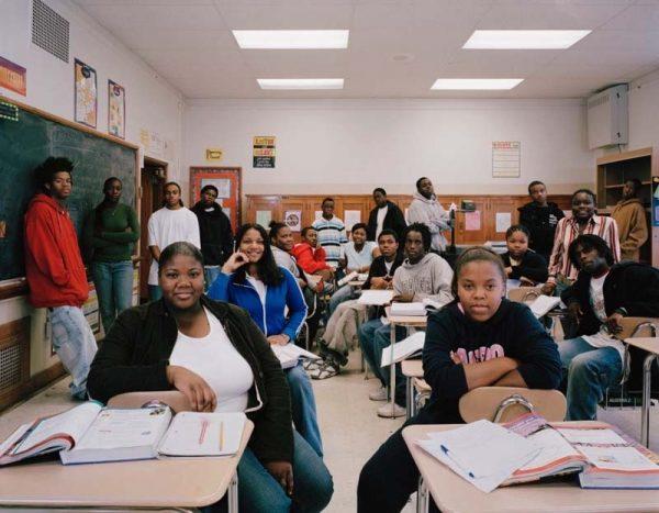 Старшие школьники в США
