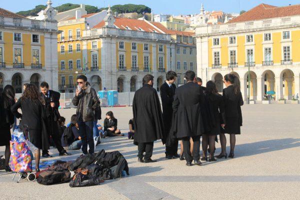 Студенты в Португалии