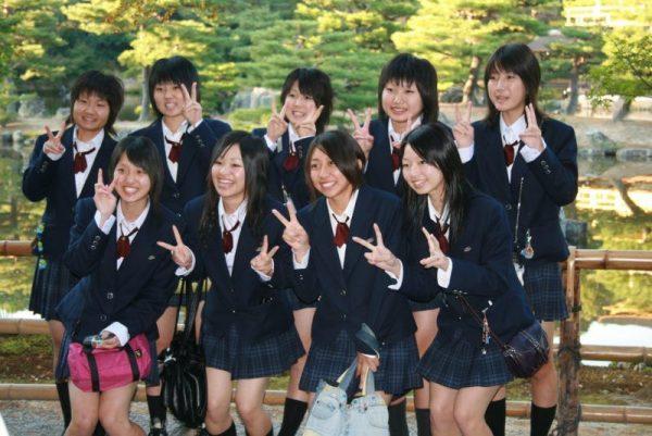 Ученики средней школы