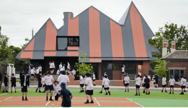 Урок физкультуры в австралийской школе
