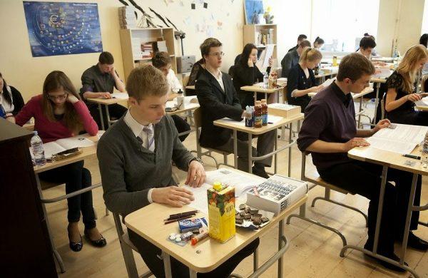 Урок в немецкой школе