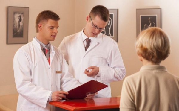 Врачи латвийской клиники