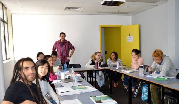 Занятие в австралийской языковой школе