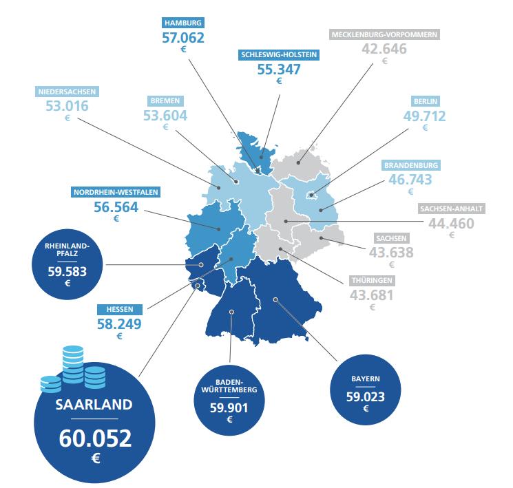 Зарплата в германии для русских на карте дубай молл