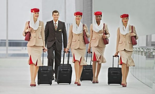 Бортпроводники Emirates Airlines