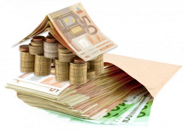 Евро в бумажном конверте
