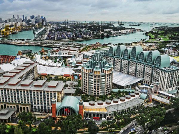 Курорт в Сингапуре