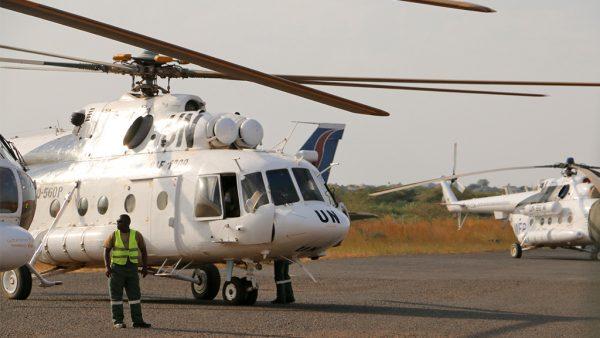 Вертолёты ООН