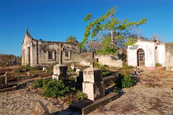 Руины в Мозамбике