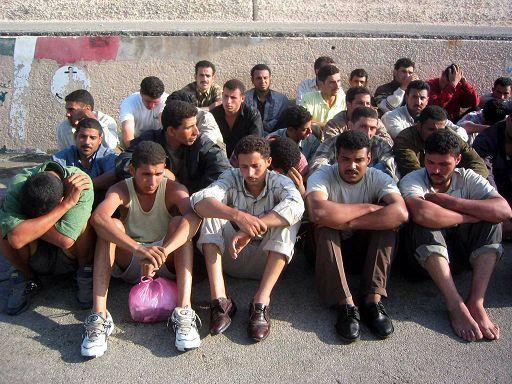 Группа арабов