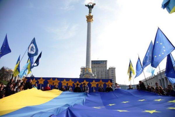 Митинг в поддержку евроинтеграции в Киеве