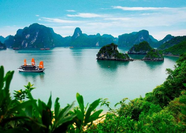 Залив во Вьетнаме