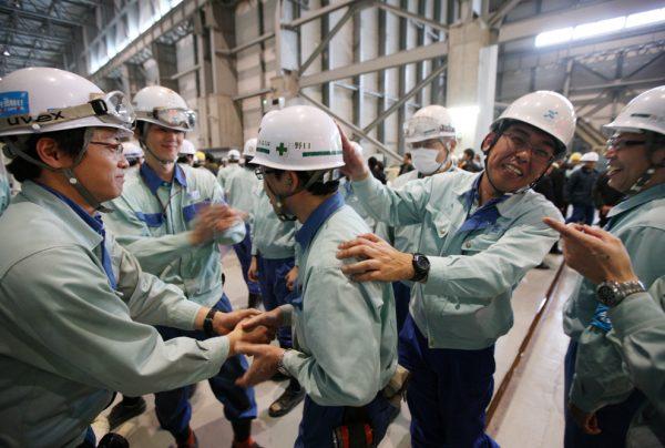 Работники в Японии