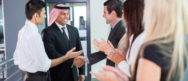 Встреча с иностранцами