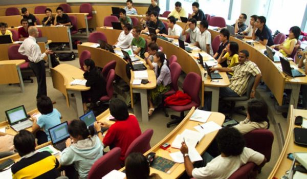 Студенты в Сингапуре