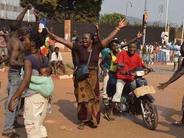 Жители Центрально-Африканской Республики