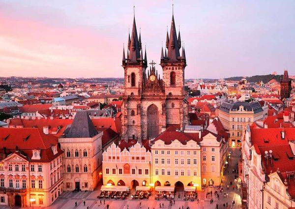 Центр Праги