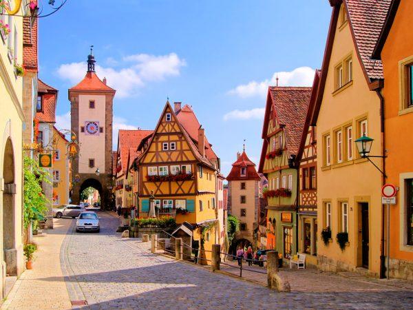 Улочка немецкого городка