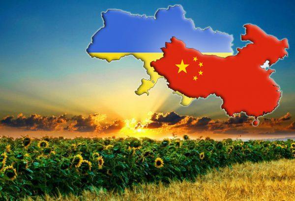 Символические изображения Китая и Украины