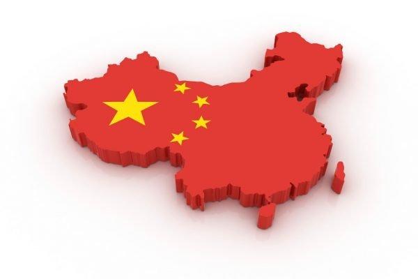 Символическая карта КНР