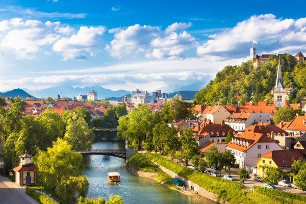 Любляна — столица Словении