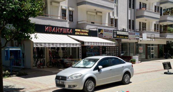 Типичная улица Махмутлара
