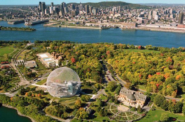 Монреаль — один из крупнейших городов Канады