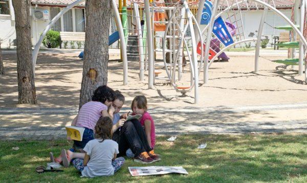 Дети в парке Махмутлара