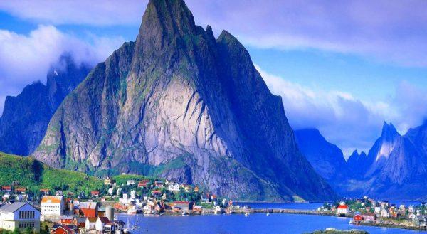 Норвежский пейзаж