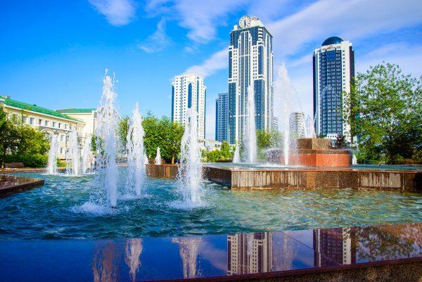 столица Чечни — Грозный