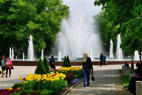 парк в Армавире