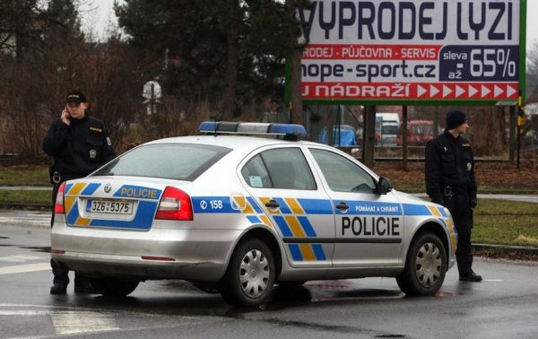 полицейские Чехии