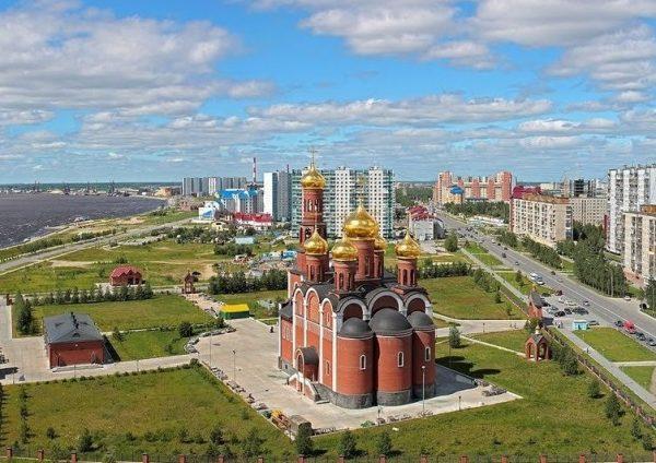 православный храм в Нижневартовске