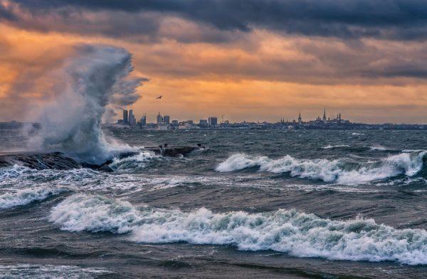 Шторм на Балтике