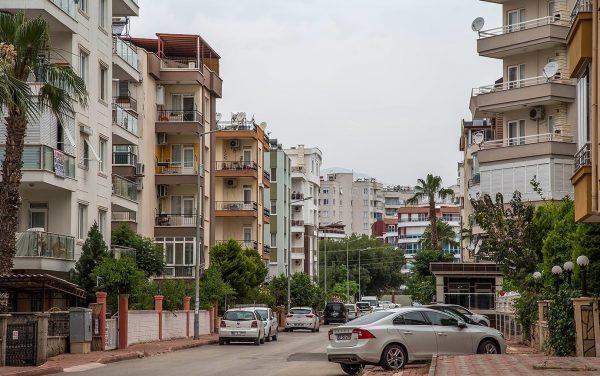 Улица в Анталье