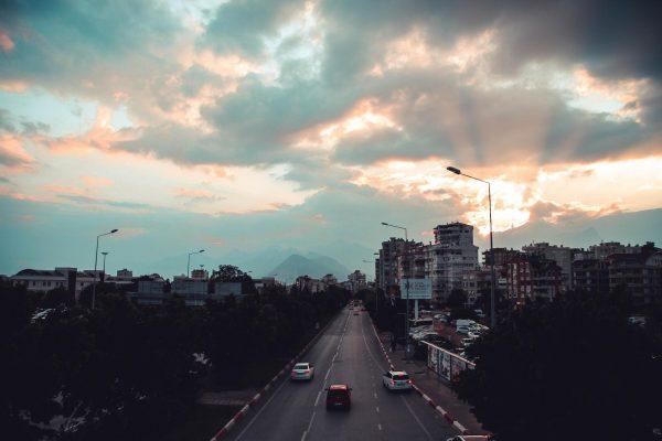 Автомагистраль в Турции