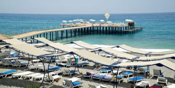 Турецкий пляж