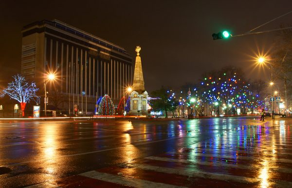 Краснодар в декабре